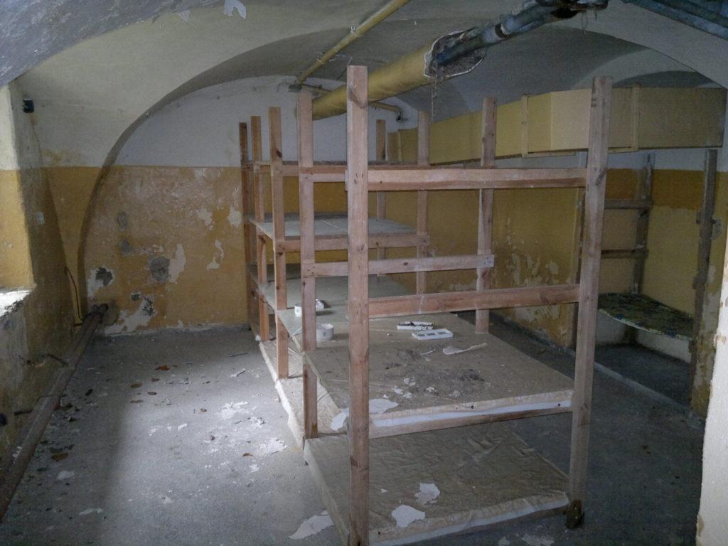 Pałac w Komierowie remont