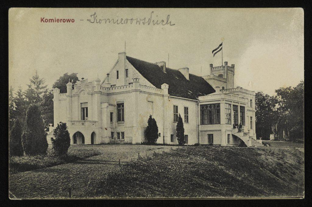 1908 r. Pałac Romana Komierowskiego