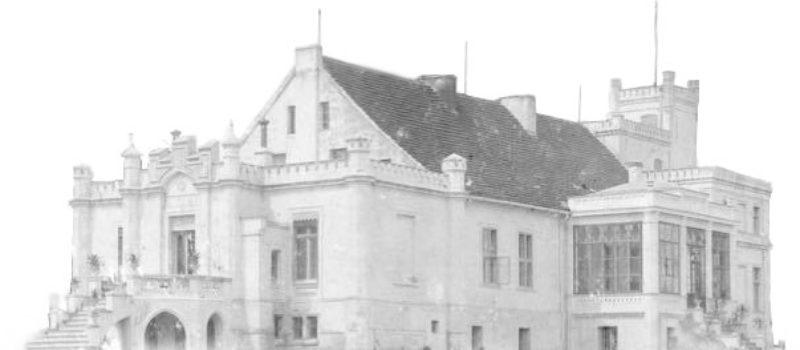 Pałac w Komierowie - zdjęcie historyczne